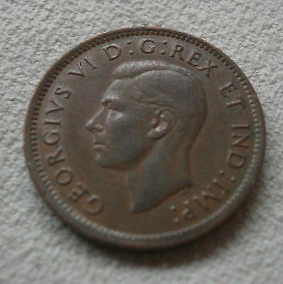 1946 Canada Canadian small cents one cent penny coin