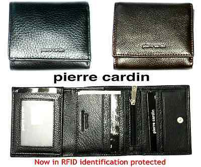 Men's Wallet - Pierre Cardin - Genuine Italian Leather Trifold Wallet - PC8783
