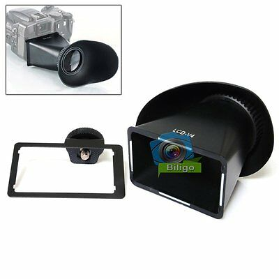 2.8X Magnifier Extender Magnetic V4 LCD Viewfinder Hood For Sony NEX-5 NEX-3【US】