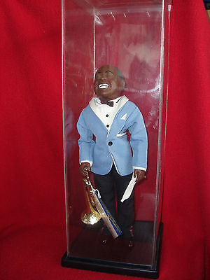 Vintage 1984 Effanbee Great Moments In Music LOUIS SATCHMO ARMSTRONG No 7661