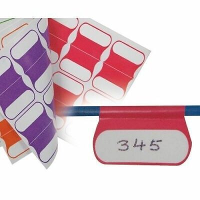 Cable Labels Multi color 100 PACK idendification Easy peel labels