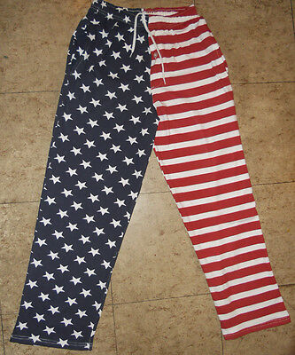 American Flag Design 100% Cotton Pajama Pants