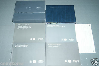 2000 Rolls Royce Silver Seraph Owners Manual - Set