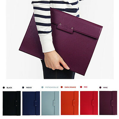 Classy A4 Document Holder Paper File Organizer Brief Case Bag Business Travel