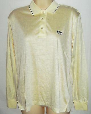 Bnwt Fila Golf Ladies L/s Polo Shirts £££ Slashed