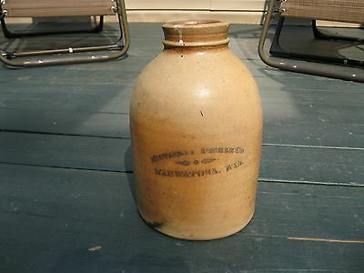 Antique Pickle Bottle Milwaukee Pickles Embossed Rare