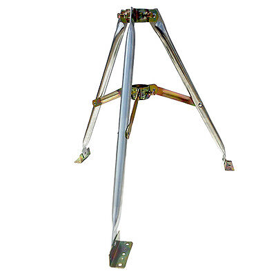 "Eagle 2' FT Antenna Tripod Mount Mast Support Roof Top Off-Air Takes Up to 2"" OD"