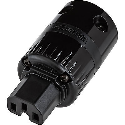Wattgate 320 evo Black IEC Power Connector