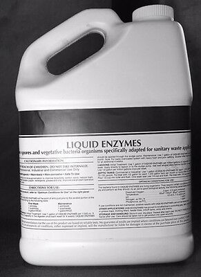 Liquid Enzyme Sewage Septic Tank Treatment 2 Year Supply 1 Gallon Patriot Chem