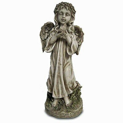 Garden Angel Figurine 12 Inches Tall  NEW (VG084) Angel Statue