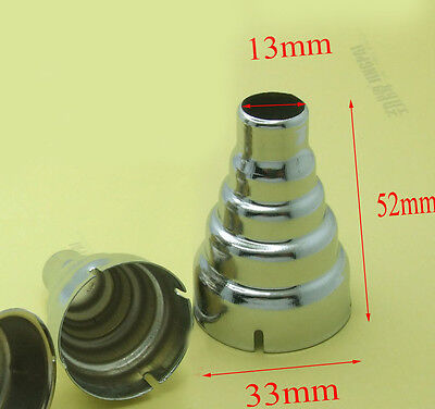 4PCS Iron circular Outlet Φ 13mm nozzle for Φ33mm 1600W 1800W 2000W hot air gun