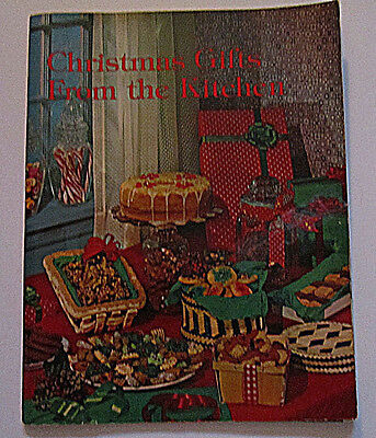 1976 VINTAGE  IDEALS COOKBOOK  CHRISTMAS GIFTS FROM THE KITCHEN