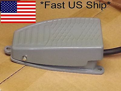 Heavy Duty Aluminum Foot Pedal Momentary 5A SPDT Foot Switch CNC *US SHIP*