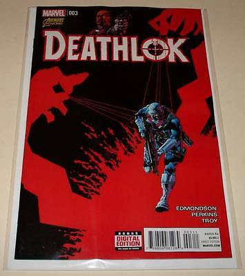 DEATHLOK # 3  Marvel Comic  Feb 2015  NM