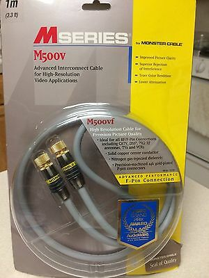 Monster Cable MSeries M500VF 1M - Advanced Performance F-Pin Cable