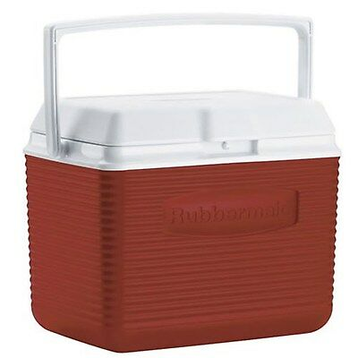Rubbermaid  10-Quart Personal Ice Chest Cooler, Red ( cold sodas food travel )