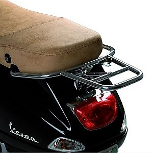 Rear Chrome rack for Vespa LX and S 50/150