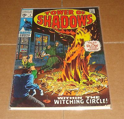 1969 Tower of Shadows #4 1st Print Marvel Comics 15 Cent Cover
