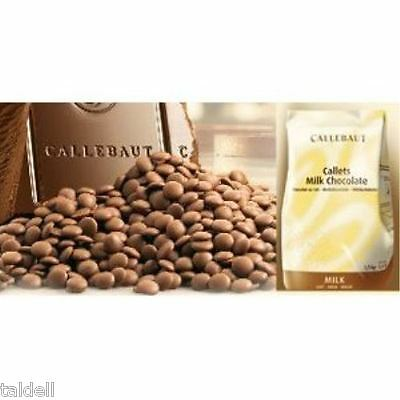 1Kg Bag Of Callebaut Milk Belgian Couverture Chocolate Buds