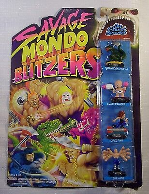 Savage Mondo Blitzers - The Chunk Blowers - MOC - Kenner