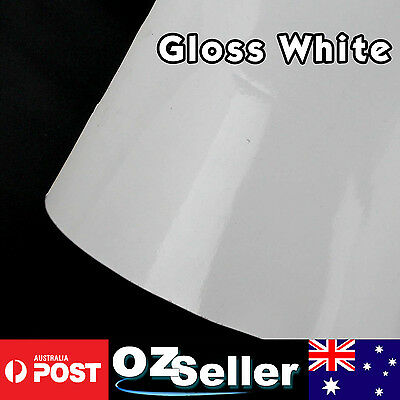 10M x 1.51M Gloss White Air Release Sheet Decal Vinyl Wrap For Whole Car Change