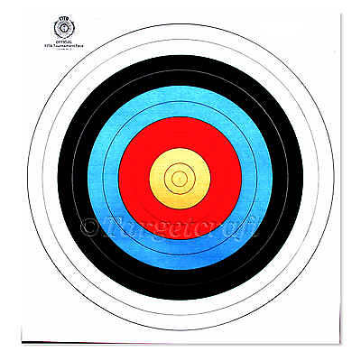 Target faces WA(FITA) 40cm heavy reinforced pack/10