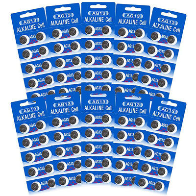 HEXBUG Compatible Batteries  Size AG13- 100 Pack + Free Shipping