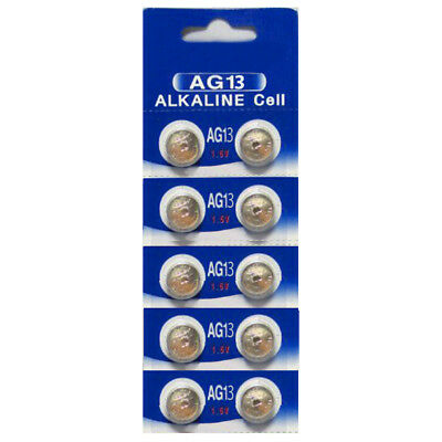HEXBUG Compatible Batteries  Size AG13- 10 Pack + Free Shipping