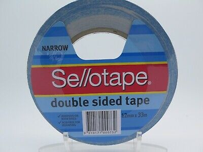 Sellotape Double Sided Tape 404 12mm x 33m 960602*