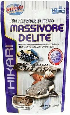 Hikari Massivore Delite 380G Fish Food For Larger Fish