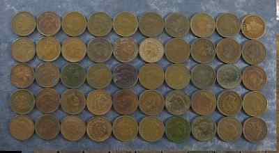 Indian Head Penny Cent Full Date 1lot=1coin