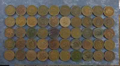 ONE(1) Indian Head Penny Cent Full Date