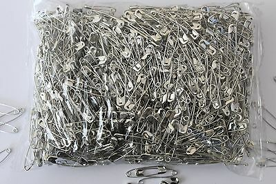 28mm Safety Pins- Bulk Quantity 1000, 10000 & 20000 - Ideal Running, Cycling etc