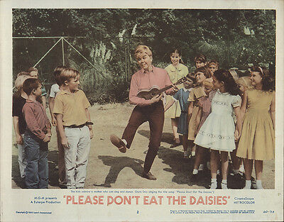 Please Don't Eat the Daisies 1960 Original Movie Poster Comedy Family