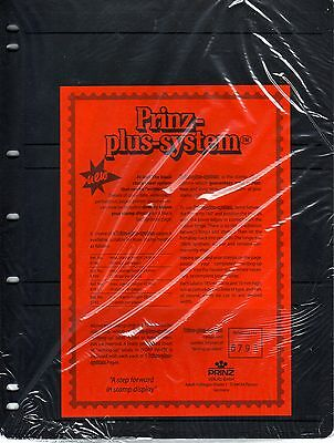 5  Prinz System 3  strip single sided Pages with strip stock sheet