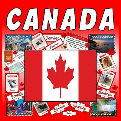 Cd Canada Teaching Resources Geography French Language Diversity Literacy Pdf
