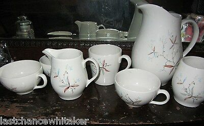 carefree FINESSE Syracuse True China Coffee Mug pitcher cups creamer tumbler HTF