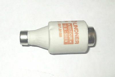 FERRAZ 16A DII Diazed Fuse, E27 Thread Size, gR, 500 V ac RS 377-0588 BOTTLE