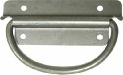 "All Purpose Trunk Handle Plain Steel 3 1/2""  S-4295"