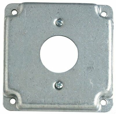 """T & B RS 11 4"""" Steel Square Box Surface Cover, 1-Single Receptacle, Qty-50"""