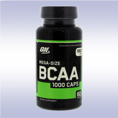 OPTIMUM NUTRITION BCAA 1000 CAPS (60 CAPSULES) branched chain amino acids on