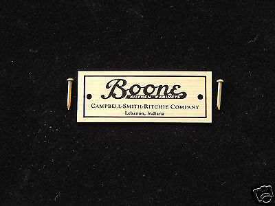 Label for Boone Cabinet