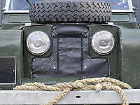 Land Rover Series 2 / 2a Radiator Muff / Radiator Grille Cover