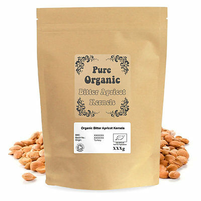 Certified Organic Bitter Apricot Kernels