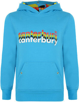 Sweat rugby Hoody canterbury KIDS bleu ciel TAILLE 10 ans XS