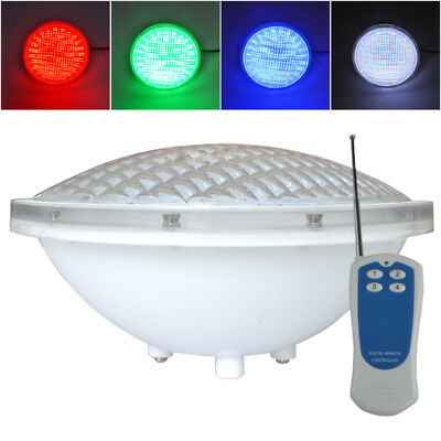 24W PAR56  LED Swimming Pool Light Underwater Light PC Cover with 333led 12V