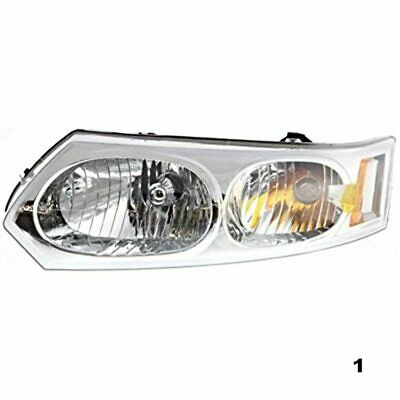 03-07 Saturn Ion Sedan (excludes coupe) Left Driver Headlamp Assembly