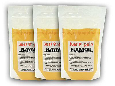 Flavacol Theater Popcorn Seasoning Butter Flavor 3Lbs - International
