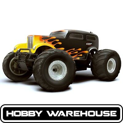 HSP Hot Rod Monster Truck 94111 2.4Ghz Electric 4WD Off Road RTR RC Truck