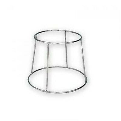 Pizza Plate Seafood Platter Stand Chrome Plate